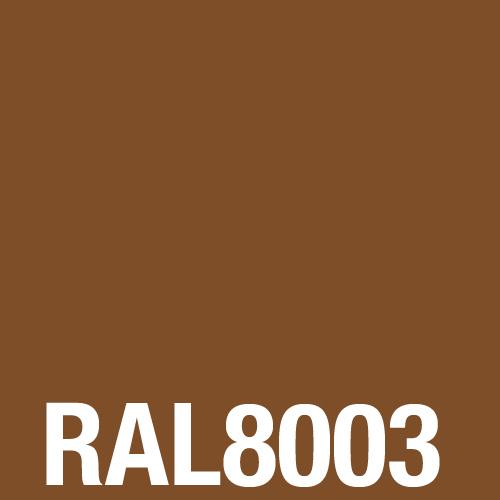 Рал 8003 какой цвет