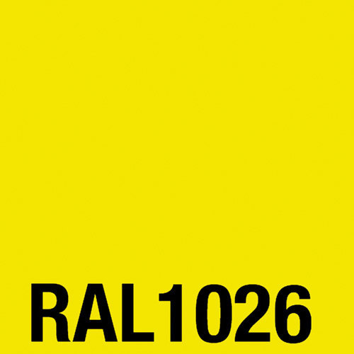 Spray acrylic laquer RAL 1026 bright yellow 400 ml