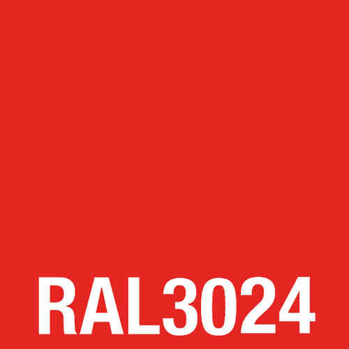 Spray acrylic laquer RAL 3024 bright red 400 ml