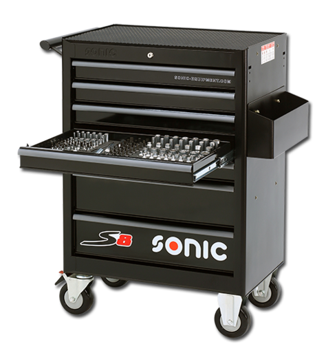 Sonic S8 tool cart filled 241-pieces - 724006