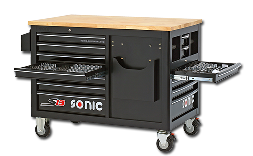 Sonic S13 tool cart filled 540-pieces - 754007