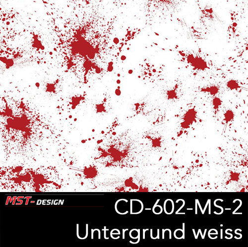 CD602-MS-2 1000 - Blooddrops dark red